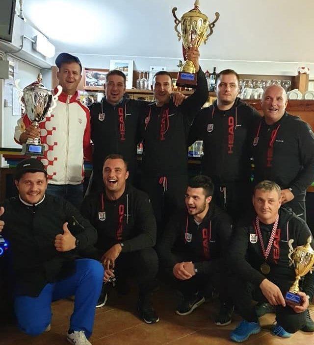Prvenstvo Hrvatske leteće mete - trap 2019 Novigrad ekipa Streljačkog društva Gusar Novigrad