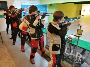 Natjecanje u streljaštvu kadeti streljačkog kluba lokomotiva iz Rijeke