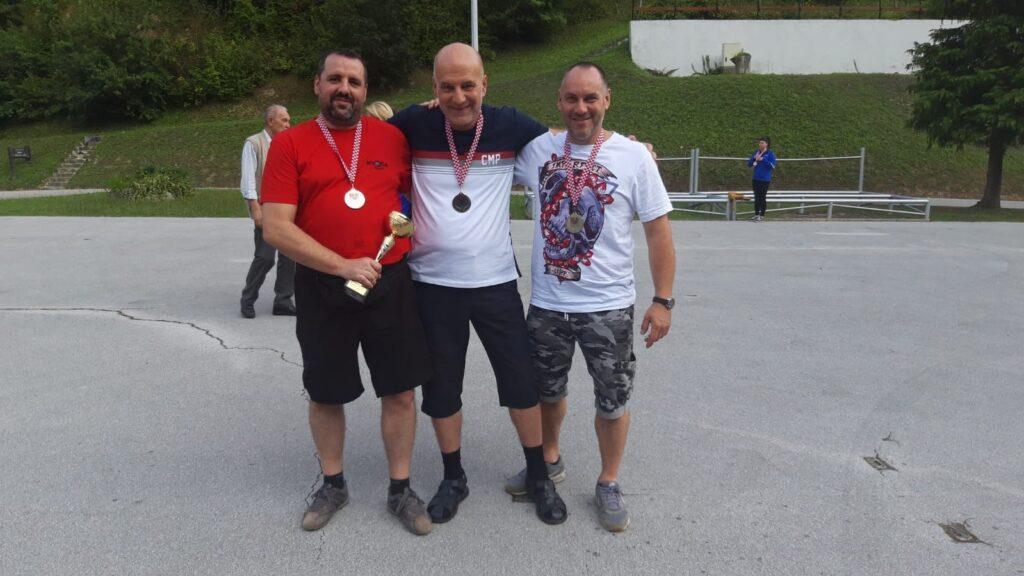 Streljački klub istra marčana treći i drugi na prvenstvu hrvatske u streljaštvu