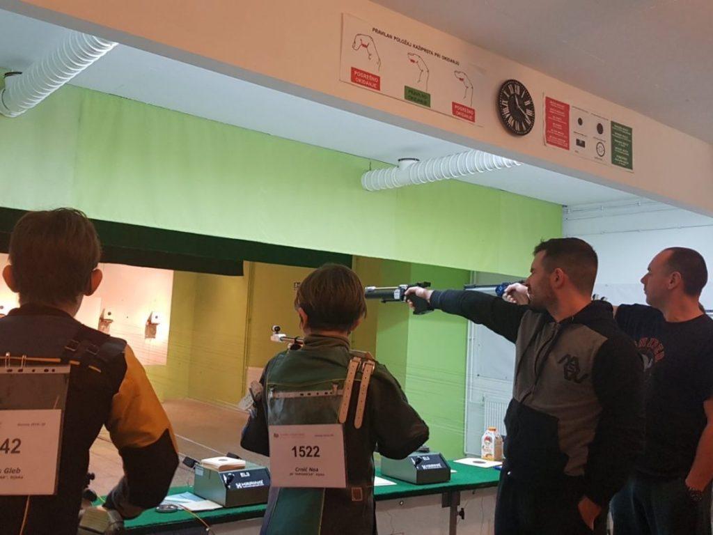sportsko streljaštvo u rovinju streljački klub papirničar
