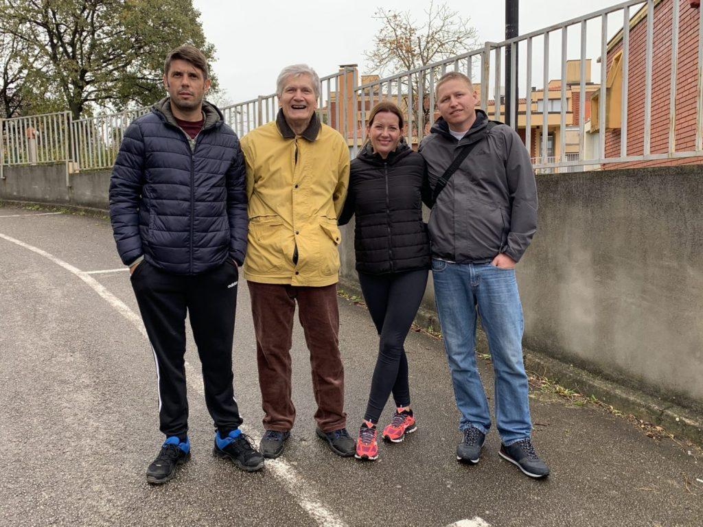 članovi streljačkog kluba rovinj, moris popović, franko licul, goran matošević, rudolf marić, emin kugić i gordana zgrablić