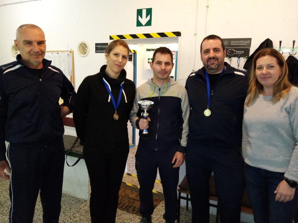natjecatelji sportskog streljaštva prvenstvo istarske županije